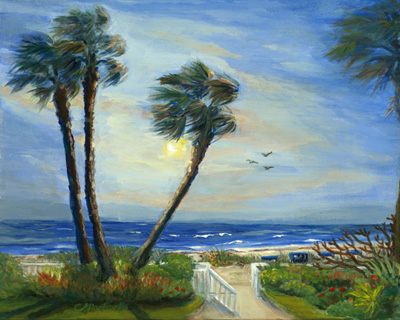 Land seascapes 1 for Breezy beach chaise